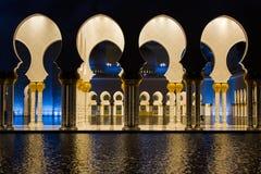 Grande moschea di Sheikh Zayed Fotografie Stock