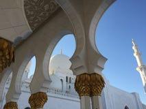 Grande moschea Sheikh Al Zayed Fotografie Stock Libere da Diritti