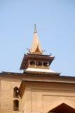 Grande moschea, Srinagar, Kashmir, India immagini stock libere da diritti