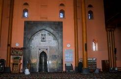 Grande moschea, Srinagar, Kashmir, India fotografie stock libere da diritti