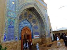 Grande mosquée de Koufa, Najaf, Irak image libre de droits