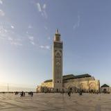 Grande Mosquée Hassan II in Casablanca Royalty Free Stock Images