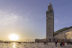Grande Mosquée Hassan II in Casablanca Stock Photo