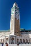 Grande Mosquee Hassan II. Stock Images