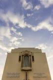 Grande Mosquee Hassan II Mediatheque in Casablanca Stock Photo