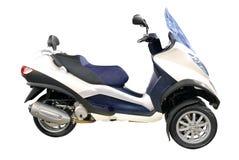 Grande moto de scooter de ville photo stock