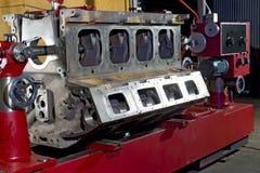 Grande motor do caminhão de mineração imagem de stock