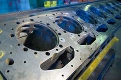 Grande motor do caminhão de mineração foto de stock royalty free