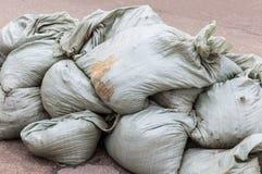 Grande mucchio delle borse di immondizia Fotografie Stock Libere da Diritti