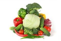 Grande mucchio vegetariano fotografie stock libere da diritti