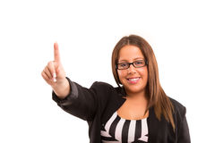 Grande mulher de negócio Imagens de Stock Royalty Free