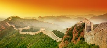 Grande Muraglia Fotografie Stock
