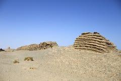 Grande muraglia antica cinese per Han Dynasty Immagini Stock Libere da Diritti