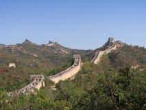 Grande Muraglia Badaling Immagine Stock Libera da Diritti