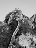 Grande Muraglia in Cina Fotografia Stock Libera da Diritti
