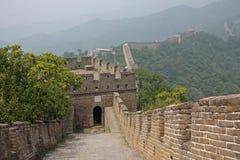 Grande Muraglia, Cina Fotografia Stock