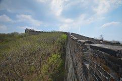 Grande muraglia, Cina Immagini Stock