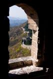 Grande Muraglia in Cina fotografia stock