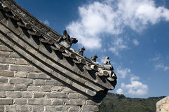 Grande Muraglia cinese Immagine Stock Libera da Diritti