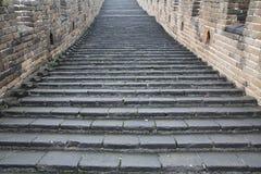 Grande Muraglia cinese Fotografie Stock