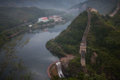 Grande Muraglia cinese Fotografia Stock Libera da Diritti
