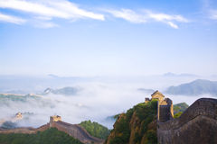 Grande Muraglia della Cina immagini stock