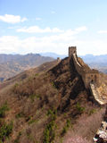 Grande Muraglia della Cina Fotografia Stock
