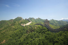 Grande Muraglia della Cina Immagini Stock Libere da Diritti