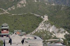 Grande Muraglia della Cina Fotografie Stock