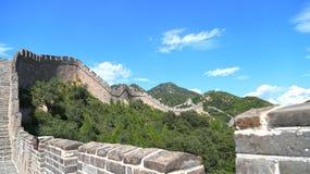Grande muraglia della Cina, Badaling Immagini Stock