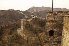 Grande Muraglia della Cina a Mutianyu Immagini Stock Libere da Diritti