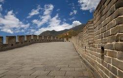 Grande muraglia della Cina, a nord di Pechino Immagine Stock