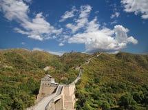 Grande muraglia della Cina, a nord di Pechino Immagini Stock