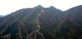 Grande muraglia della Cina, a nord di Pechino Fotografie Stock Libere da Diritti