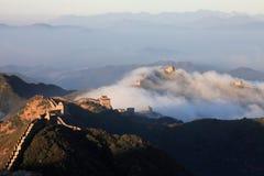 Grande Muraglia della porcellana Fotografie Stock