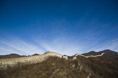 Grande Muraglia della porcellana Fotografia Stock