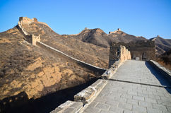 Grande muraglia della sezione della Cina Jinshanling-Simatai Fotografia Stock