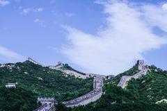 Grande muraglia 2 di Badaling Fotografia Stock