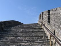 Grande Muraglia di China-6279 Fotografie Stock