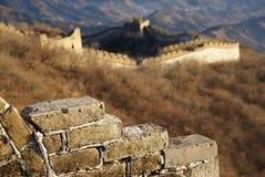 Grande Muraglia di Jiankou immagini stock