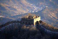 Grande Muraglia di Jiankou fotografia stock libera da diritti