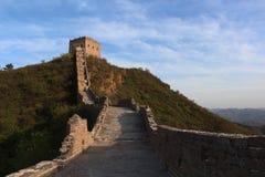 Grande muraglia di Jinshanling a Pechino Fotografie Stock Libere da Diritti