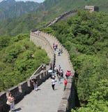 Grande muraglia di Muitanyu della Cina Fotografie Stock