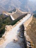 Grande Muraglia famosa nel Simatai fotografie stock