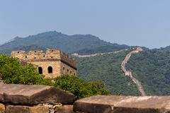 Grande Muraille chinoise image stock
