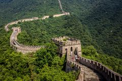 Grande Muraille chinoise images stock