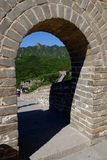 Grande Muraille de Badaling Photos stock