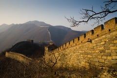 Grande Muraille de la Chine photo libre de droits