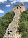 Grande Muraille de la Chine photographie stock