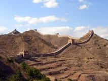 Grande Muraille de la Chine Images libres de droits